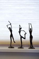 beeldenset Dansers